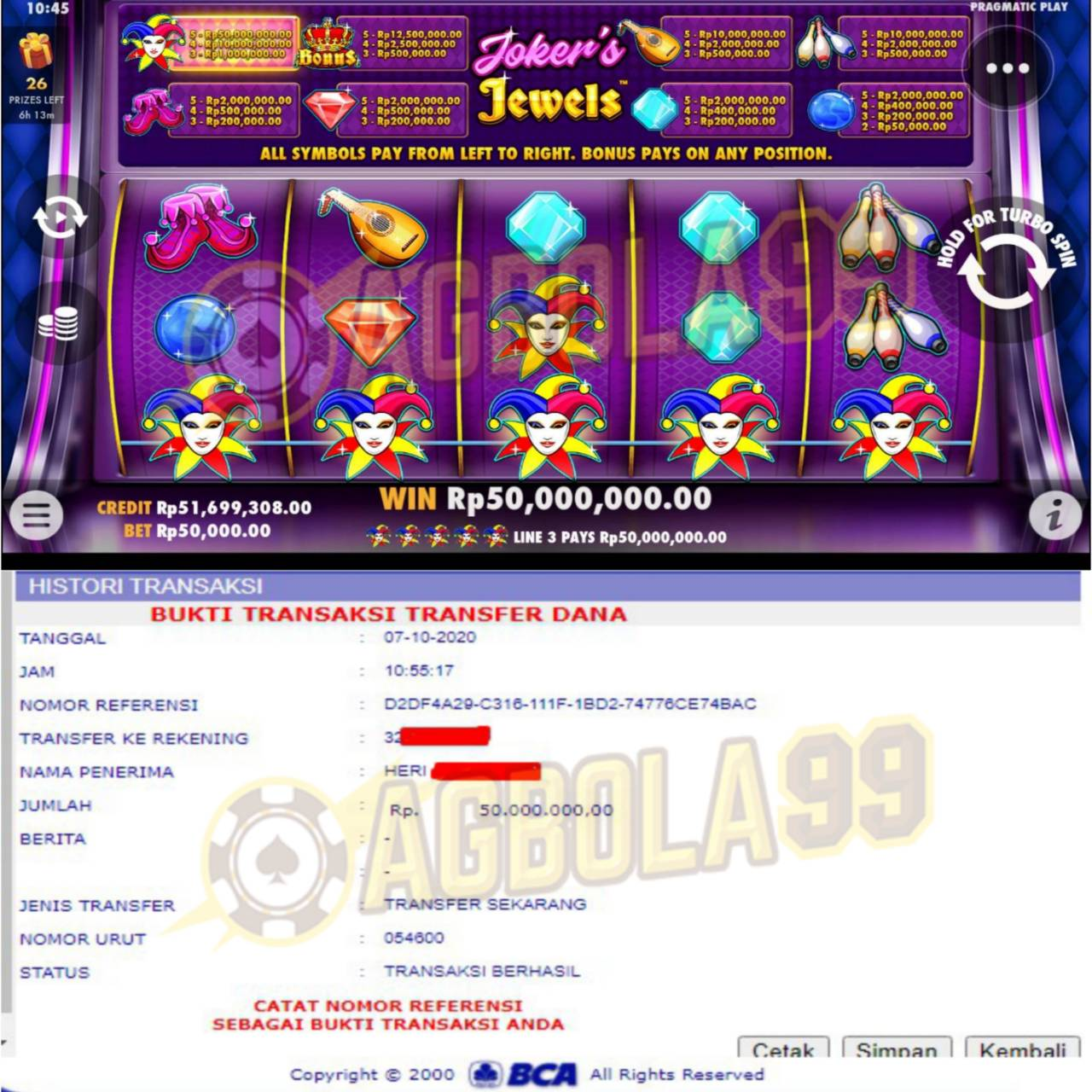 Slot Online AGbola99